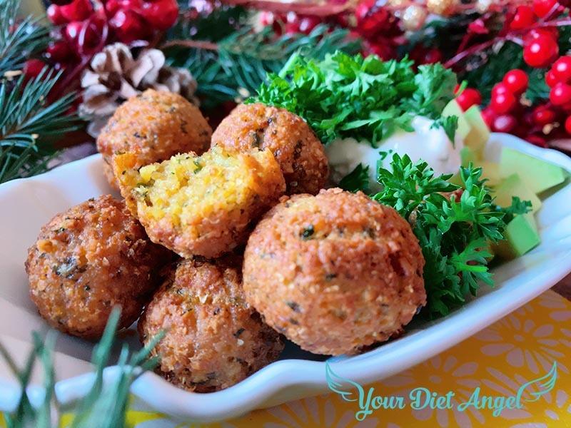 Proteinreiche Ofen Falaffel – Schnelles Rezept