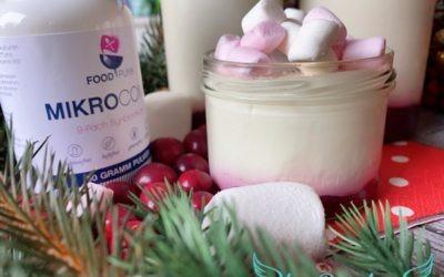 Marshmallow Beeren Joghurt selber machen