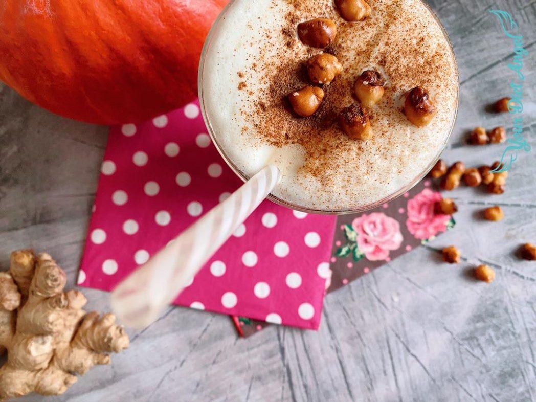 pumpkin spice reishi proteinkaffee1