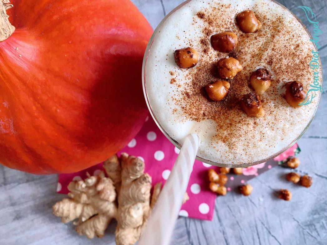 pumpkin spice reishi proteinkaffee2
