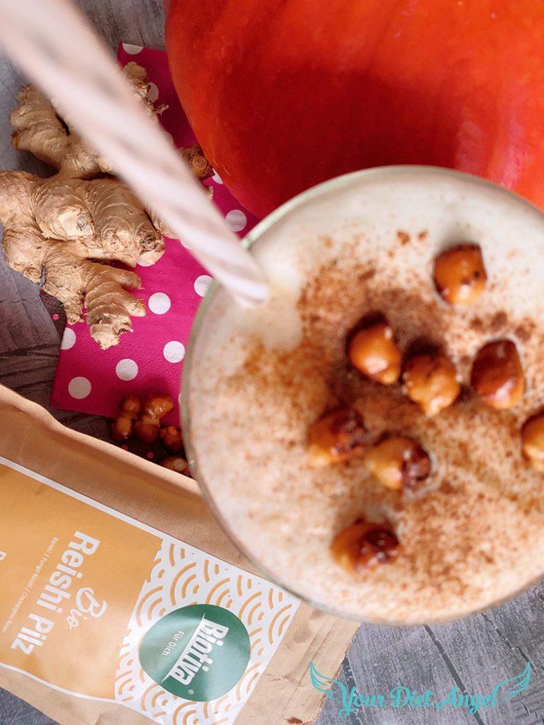 pumpkin spice reishi proteinkaffee4