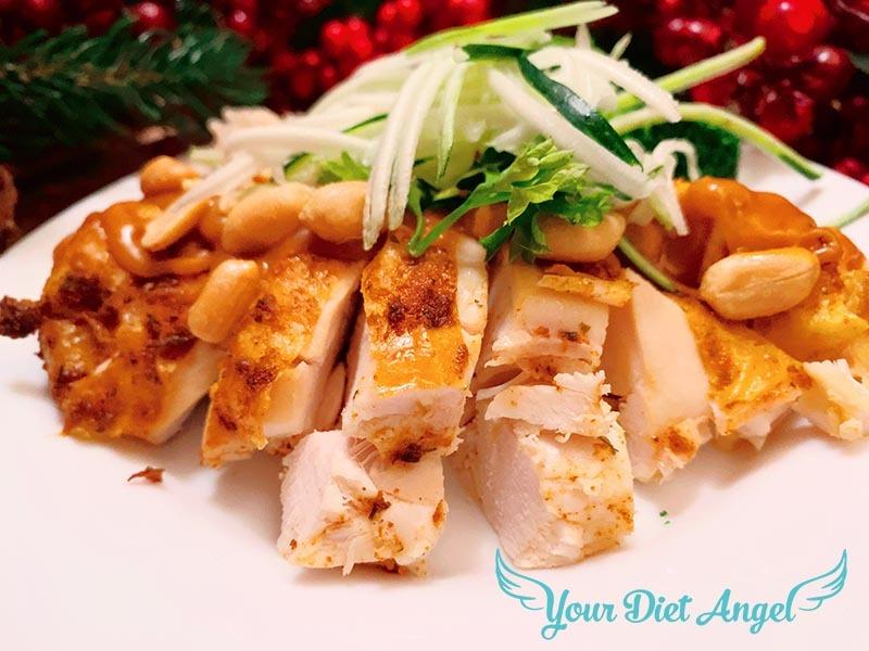Brathähnchen mit der 100 Grad Methode – Panang Curry Style