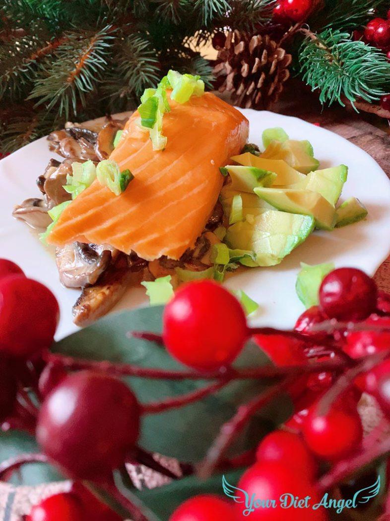 champignons mit streml lachs5