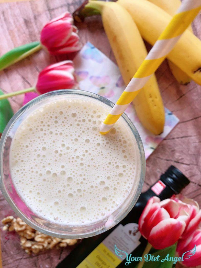 bananen walnuss kefirdrink mit protein6