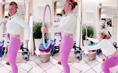 Video: Warm up zum Mitmachen / Hula Hoop Challenge Januar