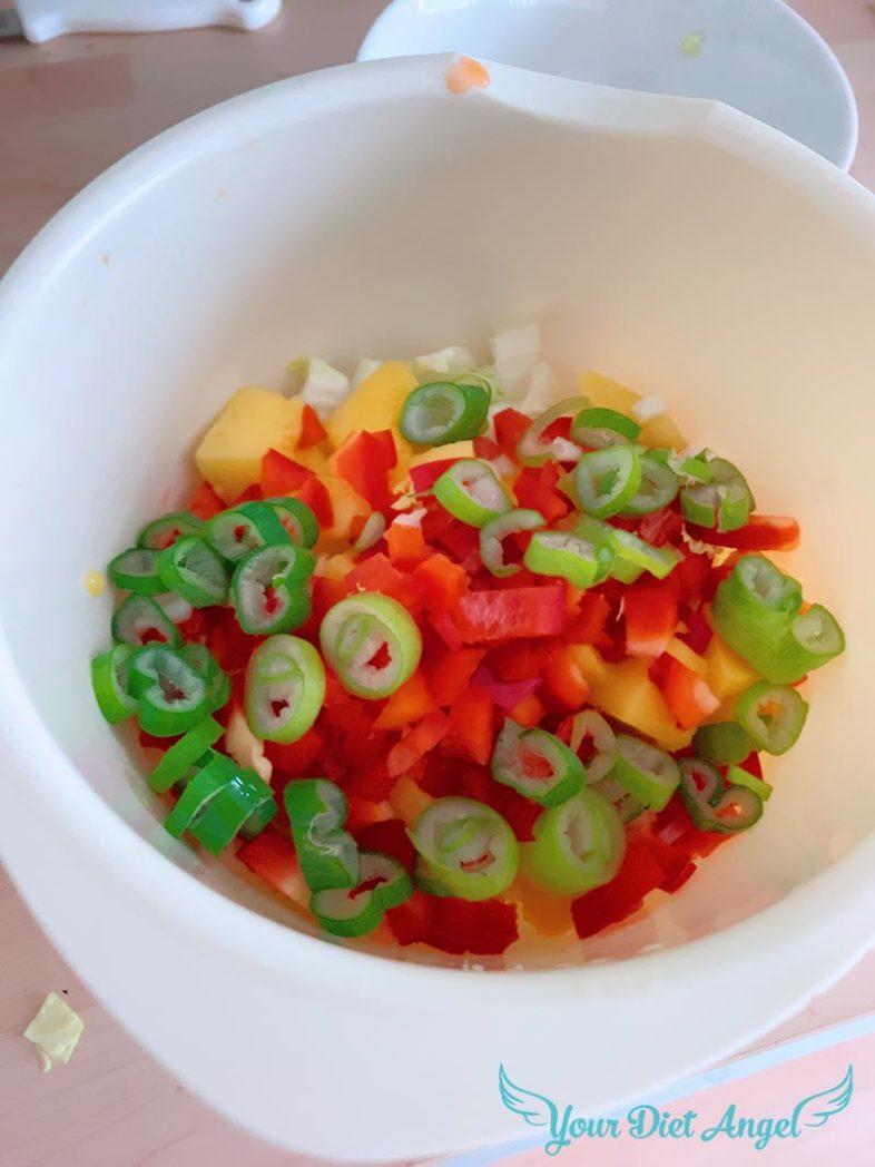 chinakohl mangosalat mitkefirdressing3