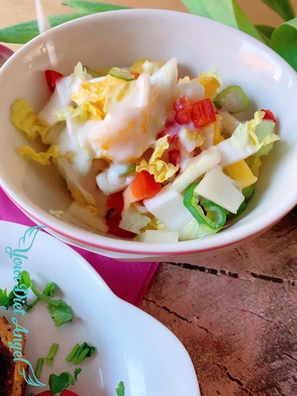 chinakohl mangosalat mitkefirdressing5