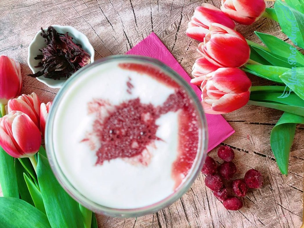 kirsch hibiskus kefir drink2