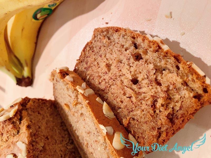 proteinreiches bananenbrot rezept vegan9
