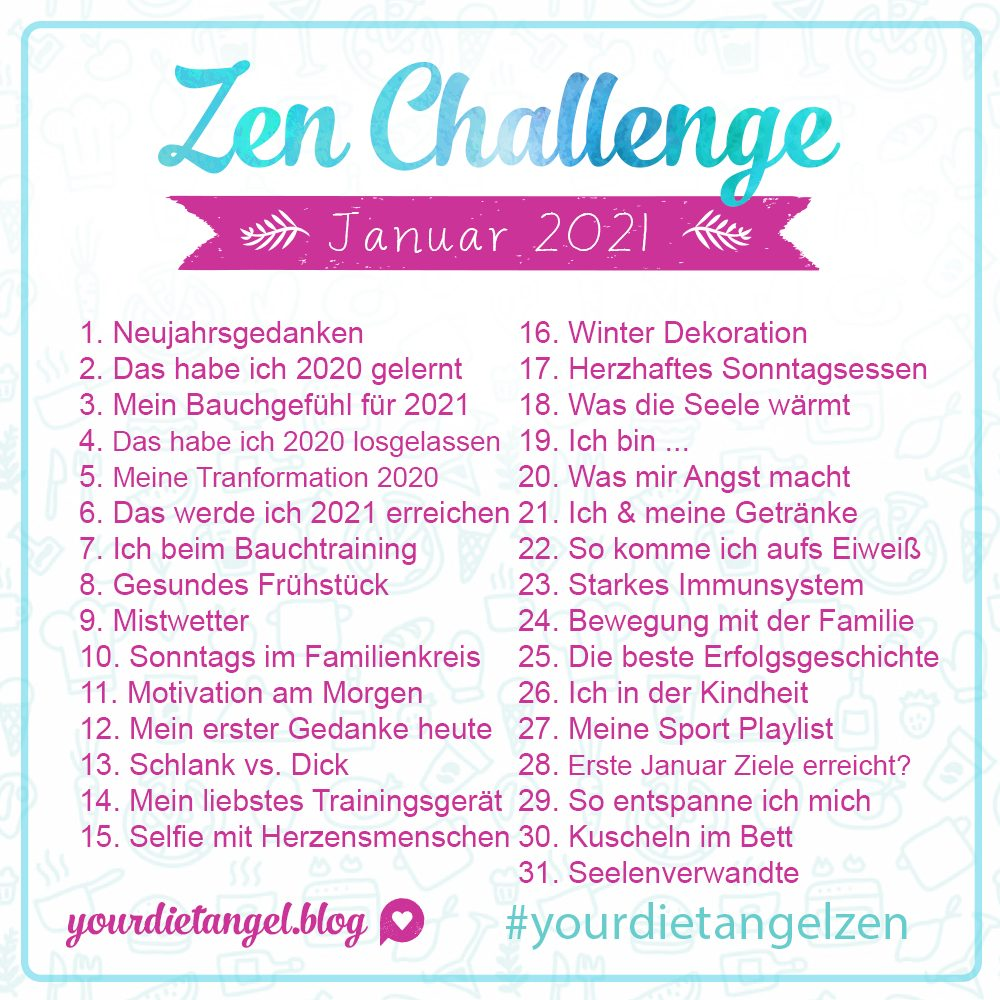 zen challenge januar