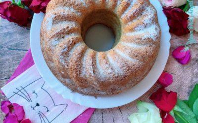 Nusskuchen ohne Zuckerzusatz mit wenig Mehl