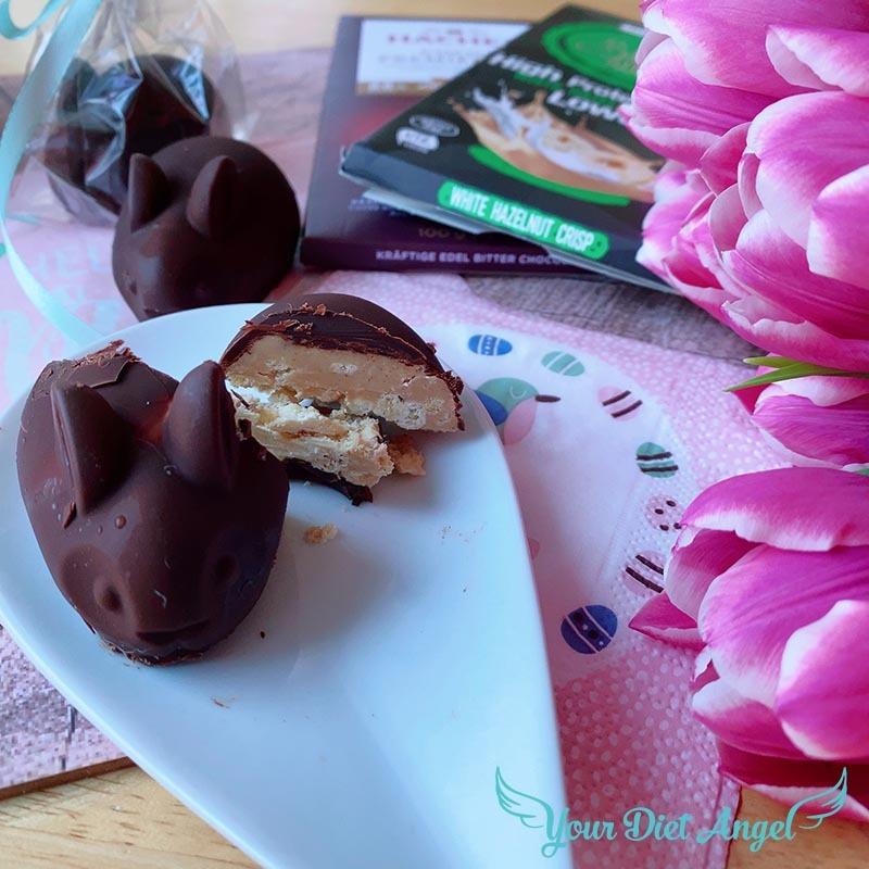 lowcarb schokoladenhasen selber machen16