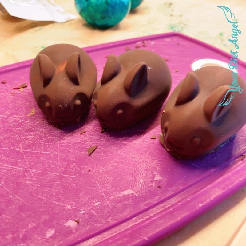 lowcarb schokoladenhasen selber machen7
