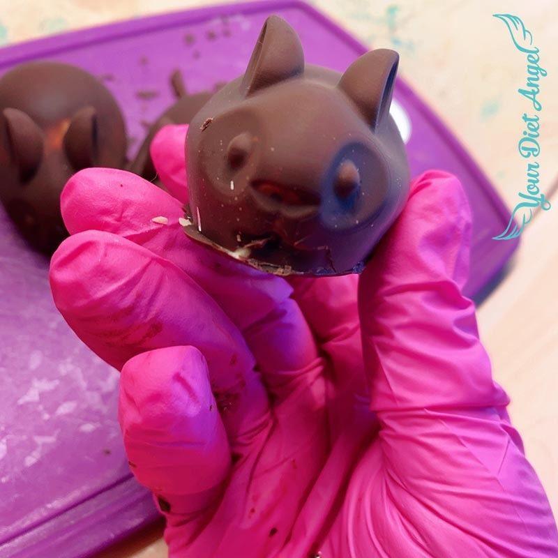 lowcarb schokoladenhasen selber machen8